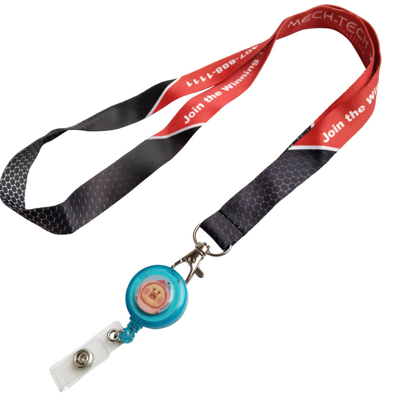 lanyards with retractable reel