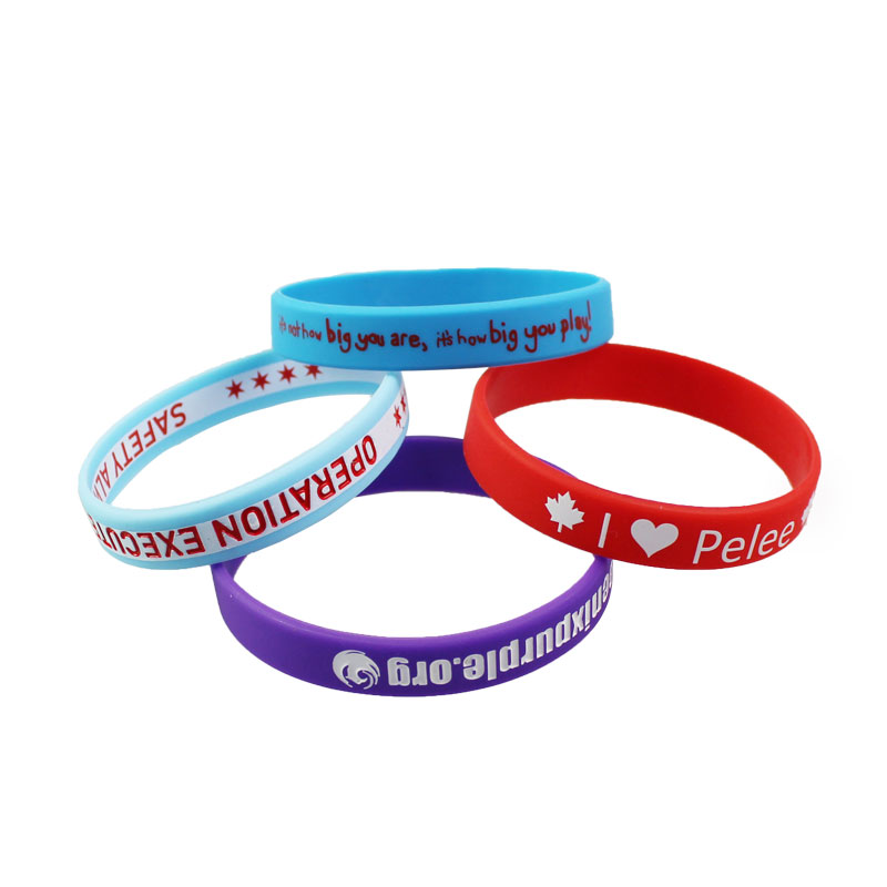Cheap Silicone Wristbands | Custom Cheap Silicone Wristbands No MOQ