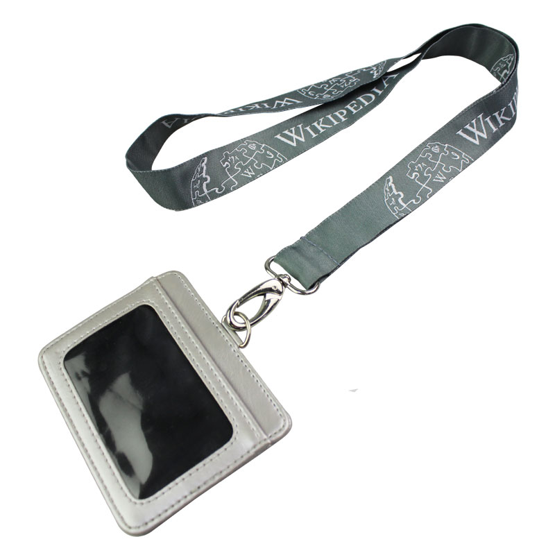 Single Custom Id Holder Lanyard No Minimum Order